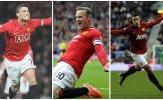 10 chân sút tốt nhất MU trong kỷ nguyên Premier League: Ronaldo thứ 7, Persie hạng 10