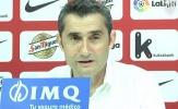 Valverde nói gì trước tin đồn dẫn dắt Barca?