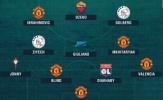 ĐHTB Europa League: Không Pogba, Quỷ đỏ vẫn thống trị