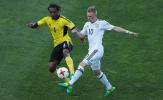 Chật vật hạ U20 Vanuatu, U20 Đức nín thở chờ tranh vé vớt