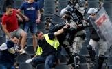 Bạo loạn nổ ra trong ngày Partizan Belgrade nâng cúp quốc gia