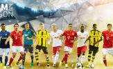 Đồ họa cuộc bầu chọn đội hình tiêu biểu Bundesliga 2017/18