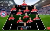 Lahm, Alonso giải nghệ, Bayern sẽ đá đội hình nào mùa giải mới?