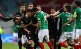 Bị loại khỏi Confeds Cup 2017, New Zealand ẩu đả với Mexico ngay trong trận đấu