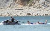 Zidane 'quẩy' tưng bừng cùng gia đình ở Ibiza