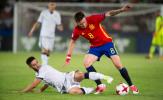 Hàng phòng ngự kỉ luật U21 Italia bất lực trước Saul Niguez