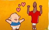 Biếm họa: Rooney và Lukaku đổi áo để cả hai cùng hạnh phúc
