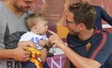 Tân HLV Roma 'chiều lòng' fans trước trận ra mắt CLB