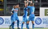 Thăng hoa 10 phút cuối, Napoli vượt qua đội bóng Serie B