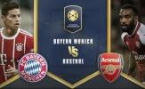 TRỰC TIẾP Bayern Munich 1-1 Arsenal (Pen 2-3): Pháo thủ chiến thắng kịch tính.