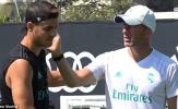 Morata bịn rịn chia tay Real Madrid, đã đặt chân xuống London