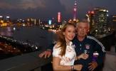 Ancelotti dẫn vợ tham quan cảnh đêm tại Thượng Hải