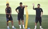 Neymar mặt lạnh như tiền trong buổi tập của Barca