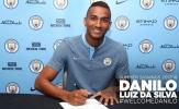 10 điều cần biết về Danilo, tân binh mới nhất của Man City