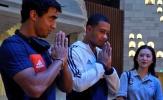 Sang Trung Quốc, Depay và Rafael lên chùa cầu an