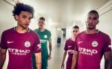 Man City tung áo đấu sân khách đầy mộng mơ