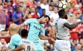 Man Utd thua Barcelona: Rashford lẻ loi, Lukaku lại yếu vía