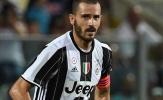 SỐC: Bonucci vẫn chưa CHÍNH THỨC là người của Milan