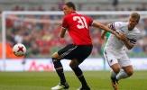 Man United thắng nhọc nhằn trong ngày Matic ra mắt