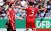 Vòng 1 Cúp quốc gia Đức: Lewy ghi 2 bàn, Aubameyang lập ngay hat-trick