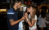 Đánh bại Juventus, Lazio mang cúp đi 'quẩy'