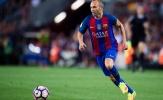 Tái đấu Real, Barca nhận hung tin từ Iniesta