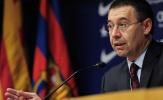 Barca lên tiếng bênh vực chủ tịch Bartomeu