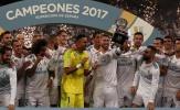 Thắng 2-0 dễ dàng, Real nâng Siêu cúp Tây Ban Nha trước mũi Barca
