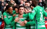 Bundesliga Five: Cơn lốc xanh thành Bremen