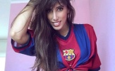 Nữ fan cuồng trấn an dàn sao Barcelona sau thất bại muối mặt