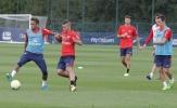 Verratti 'bở hơi tai' theo kèm Neymar trong buổi tập của PSG