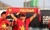 CĐV Việt Nam háo hức trước trận U22 Việt Nam - U22 Philippines