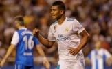 5 điểm nhấn Deportivo - Real: 'Thợ săn bàn' Casemiro và thói quen của Ramos