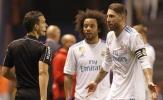 Dính thẻ đỏ, Sergio Ramos 'chê' trọng tài La Liga
