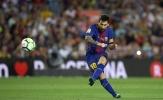 Messi lập 'hat-trick cột dọc', Barca có trận thắng ra quân La Liga