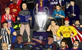 Biếm họa: Đêm trước Champions League