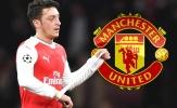 NÓNG: Mourinho 'giật dây', Ozil bỏ Arsenal về Man Utd