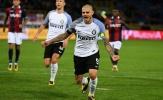 Hàng công bắn chim, Inter mất điểm đáng tiếc