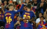 Messi và Paulinho tỏa sáng, Barca đè bẹp đối thủ trên sân nhà