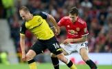 Chấm điểm Man Utd trận Burton: 'Nốt trầm' ở hàng thủ
