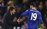 HLV Conte gửi lời 'gan ruột' chia tay Diego Costa