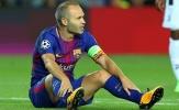 Iniesta đồng ý gia hạn cùng Barcelona với điều kiện...