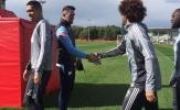 Sân tập Man Utd đón vị khách đặc biệt trước trận chiến Southampton