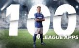 """Xuân Tú gia nhập """"câu lạc bộ 100"""" của V-League"""