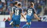 Đánh bại 'Hoàng đế xanh', Hoffenheim vươn lên ngôi đầu Bundesliga