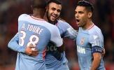 Falcao lại có cú đúp giúp Monaco hủy diệt Lille
