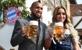 Sao Bayern Munich gạt sầu, quẩy tưng bừng trong lễ hội bia