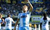 Ghi bàn, kiến tạo, Immobile đưa Lazio trở lại top 4