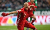 Màn trình diễn tuyệt vời của Robben trong năm nay