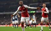 Thống kê: Những con số ấn tượng sau trận Arsenal 2-0 West Brom